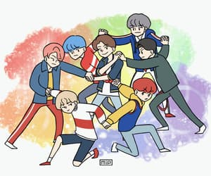 DNA, bts fanart, and gif image