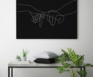 art, hands, and home image
