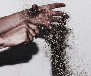 glitter, hands, and aesthetic image