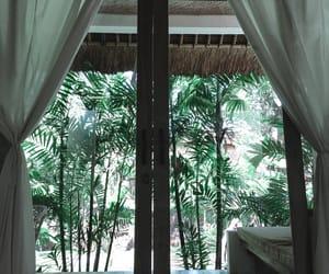 bali, bedroom, and green image