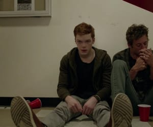 shameless, ian gallagher, and lip gallagher image