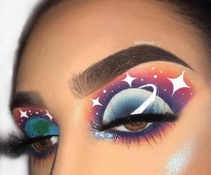 stars, art, and eyes image
