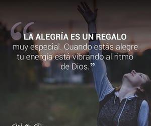 frase, quote, and alegría image