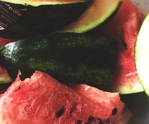 healthy, foodporn, and wassermelone image