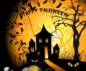 gif, Halloween, and miedo image