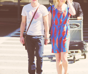 candice accola and Zach Roerig image