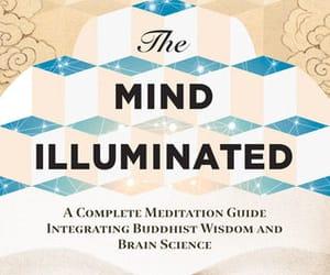 illuminated, meditation, and self care image
