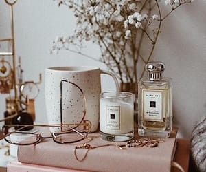 candle, fashion, and flowers image
