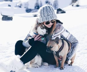 beanie, puppy love, and coat image