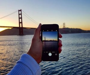 california, sanfrancisco, and iphone image