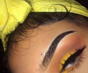 baby girl, eyebrows, and head image