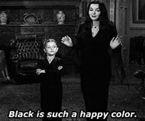 addams family, Morticia Addams, and gif image