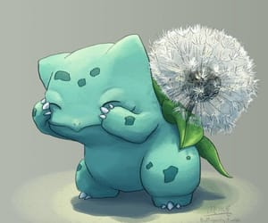 pokemon, bulbasaur, and art image