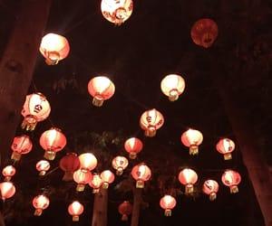 aesthetic, background, and lantern image