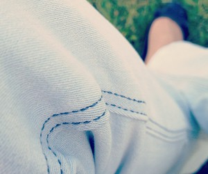fashion, flats, and jeans image