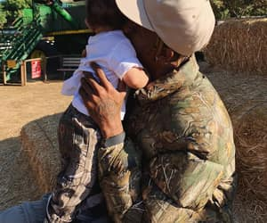 love, travis scott, and baby image