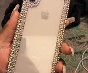 apple, glitter, and iphonexsmax image