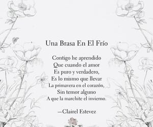 espanol, frase, and poesia image
