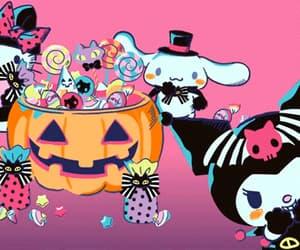 gif, Halloween, and kuromi image