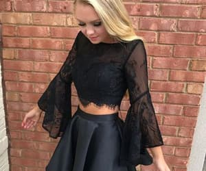 evening dresses, prom dresses, and sweet16 image
