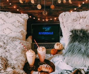 autumn, cozy, and riverdale image