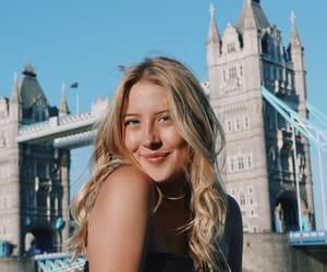 girl, travel, and woman image