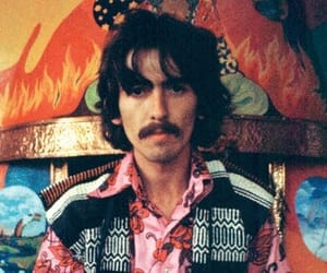beatles, george, and Paul McCartney image