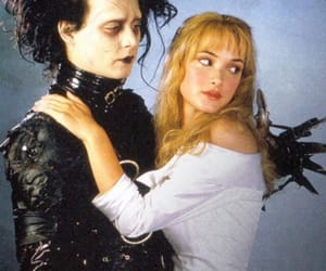 johnny depp, 90s, and edward scissorhands image