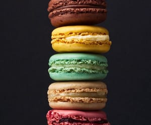food, wallpaper, and macaroons image
