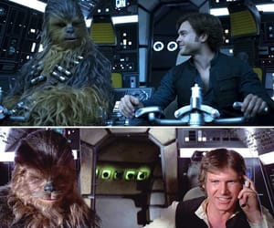 harrison ford, han solo, and star wars image
