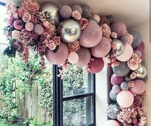 balloons, decoration, and home image