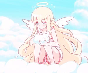 angel, anime, and gif image