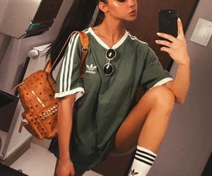 adidas, backpack, and beauty image