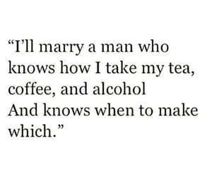 alcohol, coffee, and marriage image