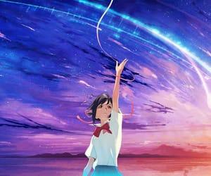 animation, kimi no na wa, and amv image