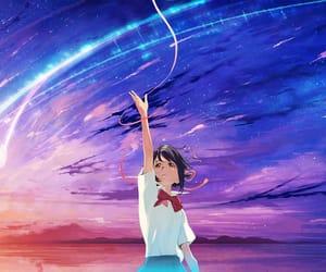 animation, kimi no na wa, and video art image