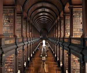 book, library, and dublin image