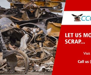 scrap, yards, and scrap yards image