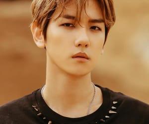 exo, handsome, and baekhyun image