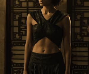 game of thrones, nathalie emmanuel, and missandei image