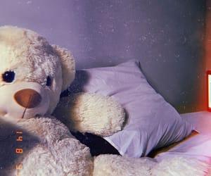 teddybear and night image