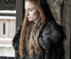 sansa stark, game of thrones, and sophie turner image