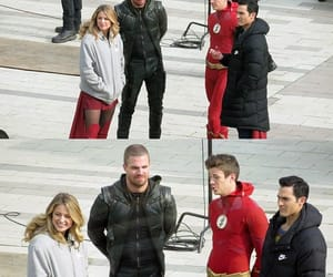 arrow, DC, and Supergirl image
