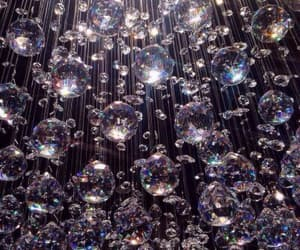 crystal, chandelier, and luxury image
