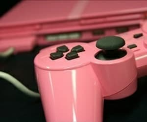 pink, game, and PS2 image