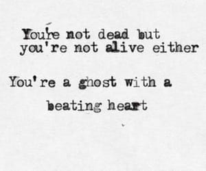 quotes, dead, and ghost image