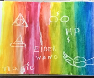 creative, drawing, and harry potter image