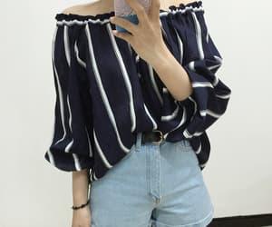 blue, fashion, and fashion casual image