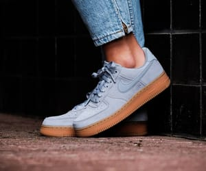 girls, gray, and nike sneakers image