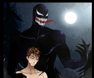 fan art, Marvel, and symbiote image